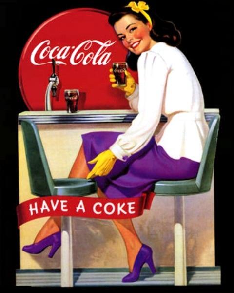 1000 images about coca cola on pinterest coca cola - Nevera coca cola retro ...
